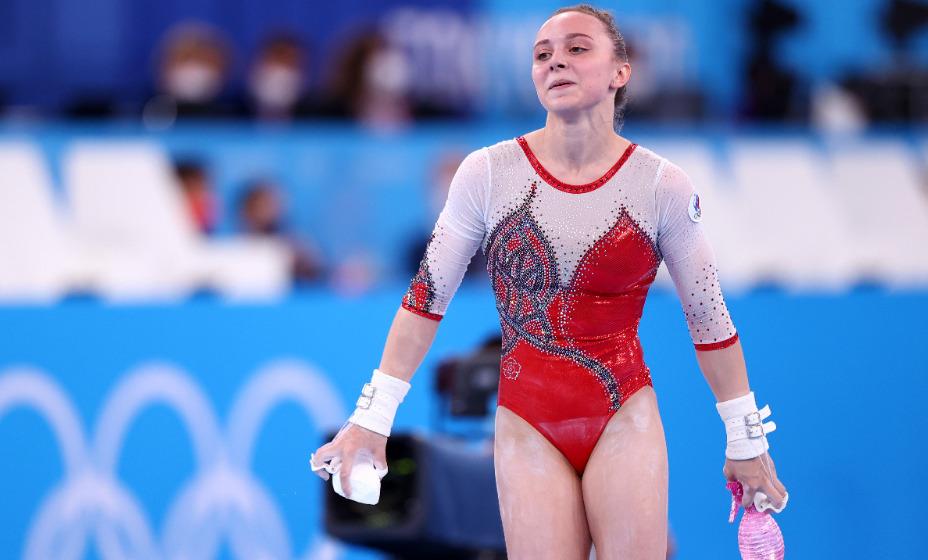 Гимнастка Анастасия Ильянкова взяла серебро в личном первенстве на разновысоких брусьях Игр-2020. Фото: Reuters