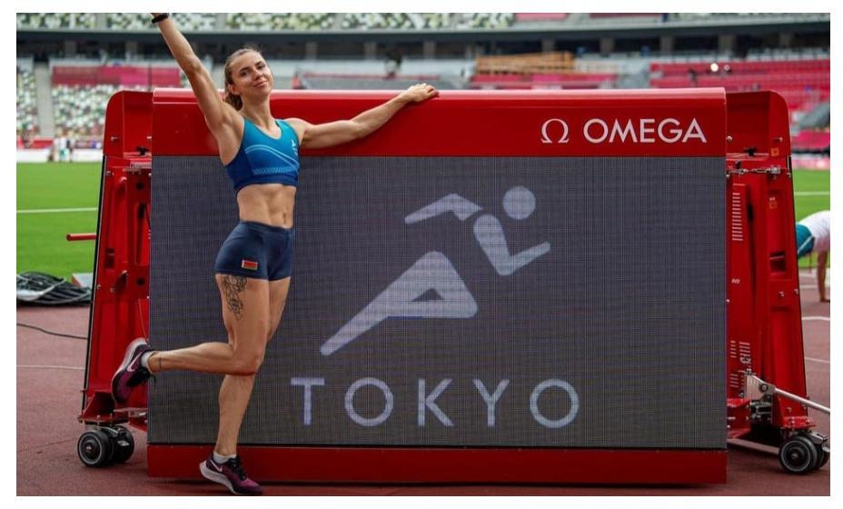 Белорусская легкоатлетка Кристина Тимановская отказалась возвращаться в Минск. Фото: Инстаграм Кристины Тимановской
