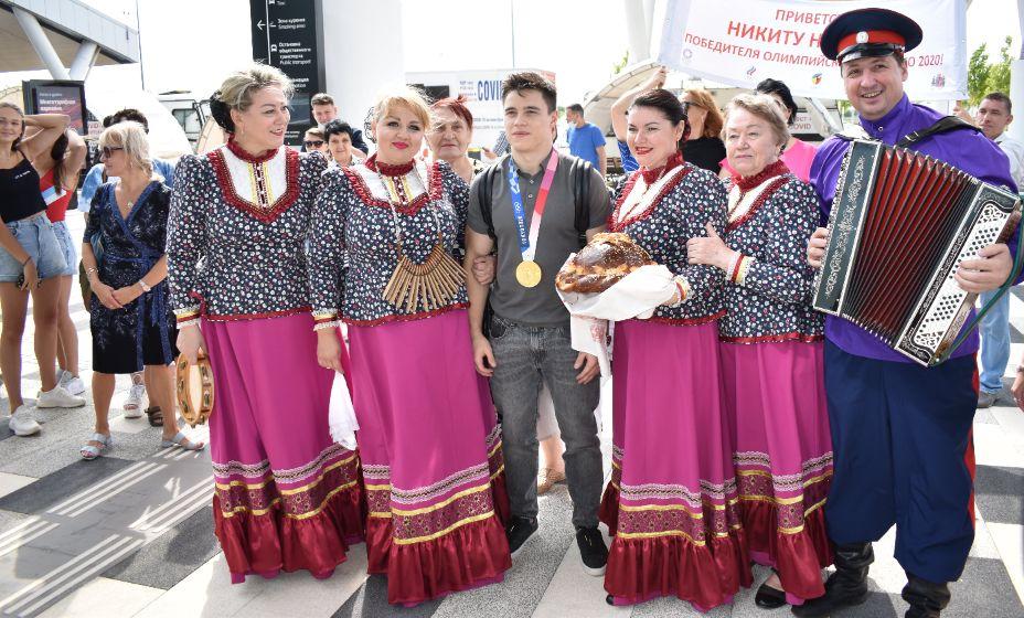 Никиту Нагорного в Ростове встречали с большим радушием. Фото: Артура Селимова