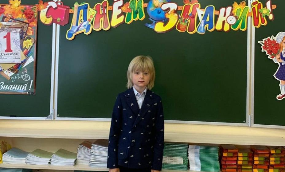Сын Евгения Плющенко Гном Гномыч пошел во второй класс. Фото: Инстаграм Евгения Плющенко