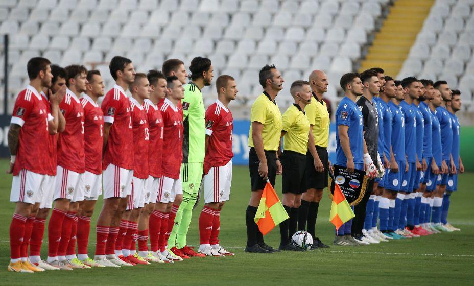 Сборная России в матче с Кипром не очень впечатлила, но для победы хватило и этого. Фото: Reuters